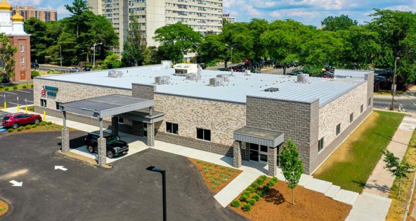 Overhead shot of Springfield Dialysis in Massachusetts